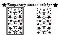 stars Good quality Temporary tattoos Waterproof tattoo stickers body art Painting wholesale