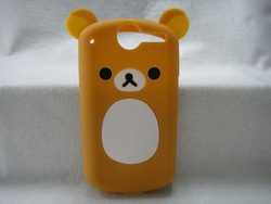 Hotsale Cute Easily bear Phone Case for Huawei C8800 U8800 Ideos X5,High Quality Cell Phone Case Silicone(China (Mainland))