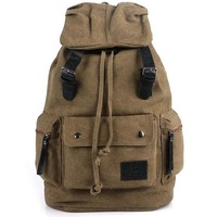 New Fashion Men Canvas Satchel Totes Clutch Handbag Shoulder Bags Purse Travel Backpack