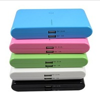 20000mAh Dual USB Output  Power Bank For Mobile phone MP3/MP4 PSP Tablet