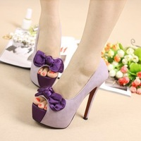 Ladies Spring Shoes Wwomen Shoes Pumps Womens High Heels Red Sole High Heel Shoes Satin Ivory Heels  Red Bottoms For Women