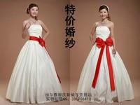 2013 sweet wedding dress bow princess brief hs0108