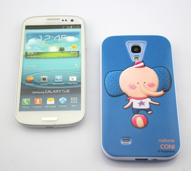 Wholesale Top Quality Fashion Hot Lovely Cartoon Romane Case For Samsung Galaxy S4 i9500,With Retail Package,100pcs\lot(China (Mainland))