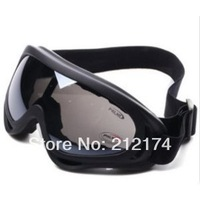 Black Grey  Airsoft X400 Tactical Wind Dust Protection Goggle Motorcycle Glasses