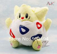 "Free Shipping 5PCS Pokemon Plush Toy Togepi plush 8"" 18cm Cute Soft Stuffed Animal Doll Kid Gift"