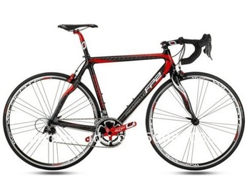 New 2010 Pinarello FP2 Carbon Red Black Complete Bike