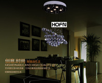 Free Shipping Modern Luxury Dining Room Crystal Lamp Pendant Hanging Light on Sale
