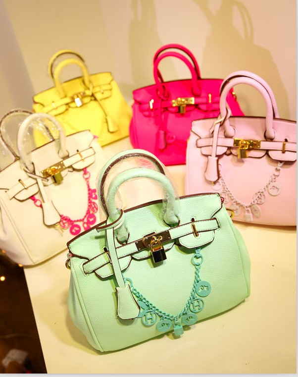 2013 fashion female handbag messenger bag ice cream bracelet decoration bag(China (Mainland))
