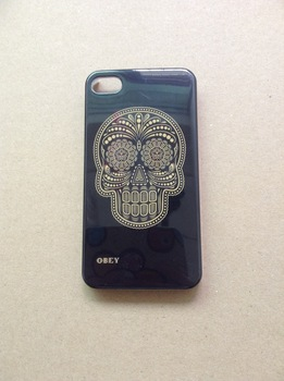 Free shipping obey design case hard plastic case for iphone 4s  #2