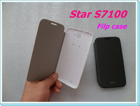Original Flip leather case for Star S7180/S7100/S7189/S7188 5.5 inch smartphone 2 Colors White+Black