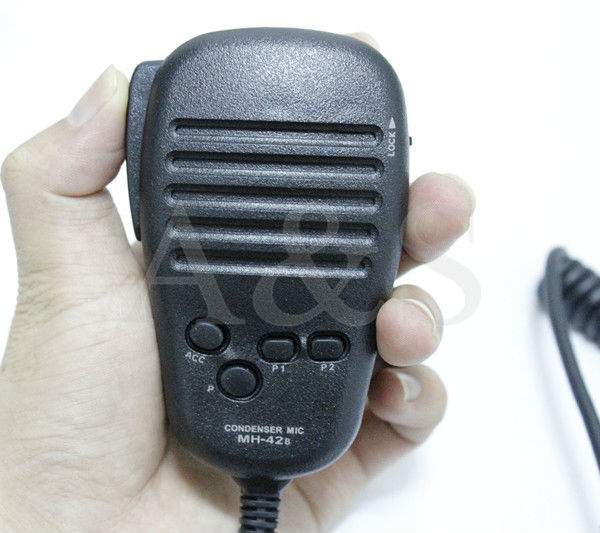 Microphone speaker MH-42B6J for YEASU mobile radios Mobile Radio Speaker for FT-1900R / FT-1807R / FT-1802R/FT-7900 and so on(China (Mainland))