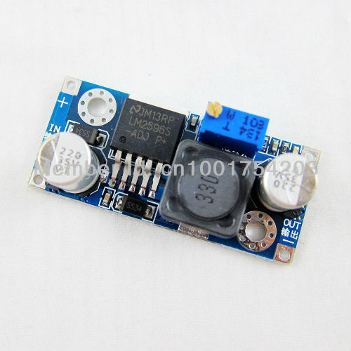 LM2596 LM2596S Tiny 3A DC Power Supply Regulator Module Adjustable 5V 1.5V-35V(China (Mainland))