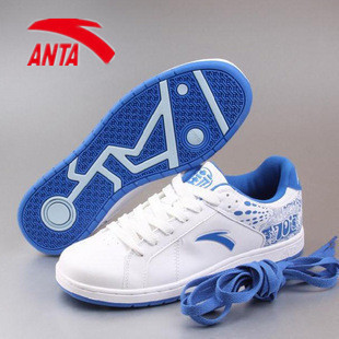 2013 spring ANTA men&#39;s male breathable skateboarding shoes ANTA sport shoes casual shoes fashion skateboard shoes(China (Mainland))