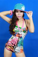 Fashion dj female singer costume costumes ds lead dancer clothing doodle briefs