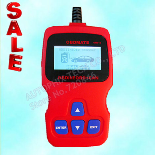 AUTOPHIX OM510 obdii scanner fully functional On-Board diagnostics tool(China (Mainland))