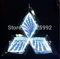 car logo light for Mitsubishi Lancer laser  vehicle-logo lamp 3 D vehicle-logo lamp