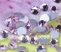 Free shipping 1440pcs 1.5-1.6MM  SS4 LT.ROSE color flat back rhinestone, Non HotFix Rhinestones for DIY crystal rhinetones
