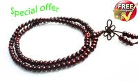 Special offer free shipping  Do sandalwood prayer beads bracelet necklace Lucky evil spirits