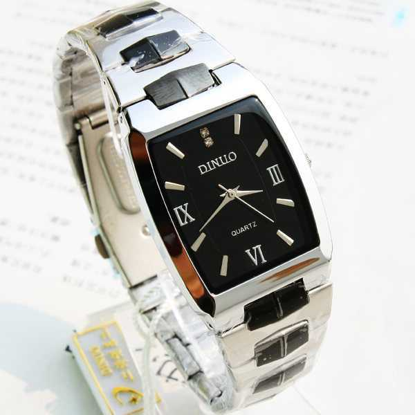 the Cask men quartz strip watch quartz watch gun color Roman numerals watch 154353(China (Mainland))