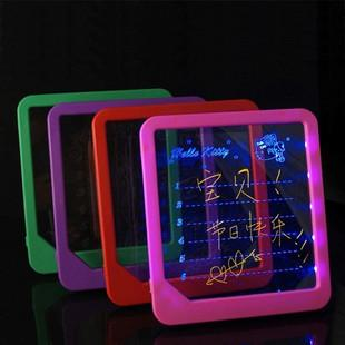 Novelty commodities luminous message board gift girlfriend gifts romantic fashion birthday gift(China (Mainland))