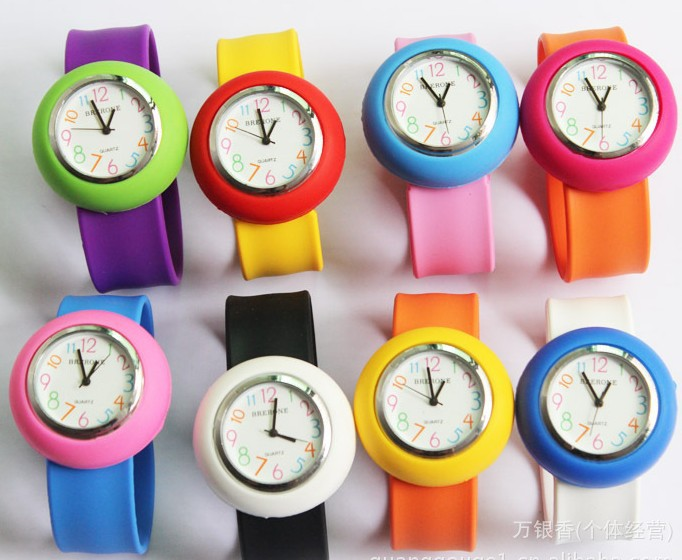 Candy jelly table table tape measure table cartoon child watch male student watch girl(China (Mainland))