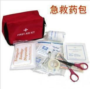 Portable medpac household medpac outdoor first aid bag first aid kit first aid supplies(China (Mainland))