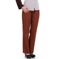 [10pcs/free ship]  long design pants coffee clean straight trousers  Dorm administrators workwear Housekeeper workwear top