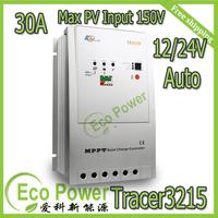 DHL Free Shipping MPPT Solar Controller Regulators 30A  12/24V Tracer 3215RN EP