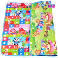 Baby crawling mat double faced thickening child play mat crawling blanket baby puzzle fitness