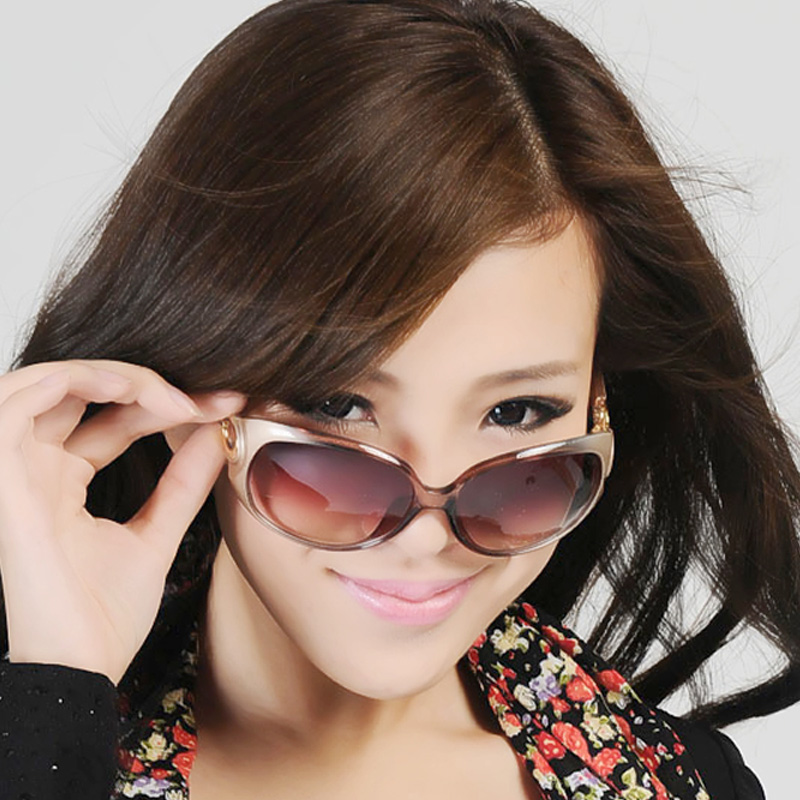 Fashion vintage Women gradient polarized sunglasses polarized sunglasses sun glasses goggles(China (Mainland))