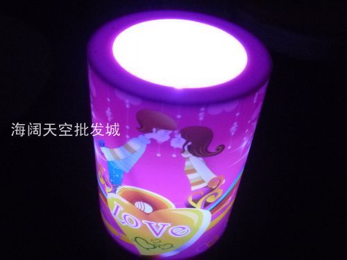 Lovers candle acoustic control candle gift(China (Mainland))