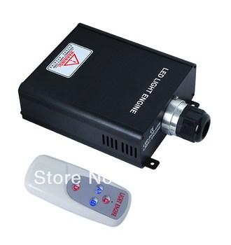 45W Optic Fiber LED Source Plastic Fiber Lighting Engine FOL40 Wide IP Voltage Remote Controller Free Shipping