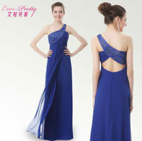Free Shipping 2013 New Arrival Lune Women's Embroidery Prom Gown Ball Evening Dress