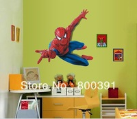 EMILY WALL DECAL factory direct 1 piece large Spiderman boy room art mural wall decal stickers peel & Stick