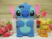 New 3D Cute Stitch Silicone Skin Back Cover Case for iPhone 5 5G 5th 20pcs/lot