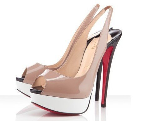 2012 multi colour platform slingbacks, open toe high heel wedge, red bottoms sandal accept drop shipping!(China (Mainland))