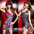 Oblique women's 2013 tight vintage slim hip sexy one-piece dress
