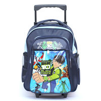 Small primary school students male trolley school bag detachable school bag 314 zbb free shipping
