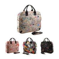 Girls multi-colored laptop bag laptop bag 12 14 15 outsourcing women's fashion bag