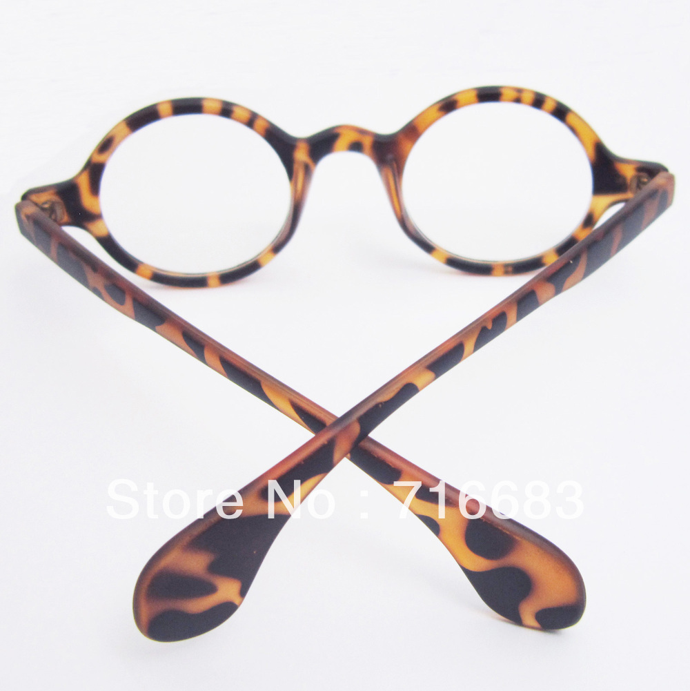 10 pieces/Lot Harry Potter Small Round Vintage Retro Leopard Tortoise Eyeglass Frame Frames Optical Glasses Spectacles Eyewear(China (Mainland))