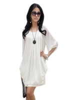 2013 New Chiffon Dress sexy casual dress Sundress Women chiffon skirt Graceful Free shipping WQL020