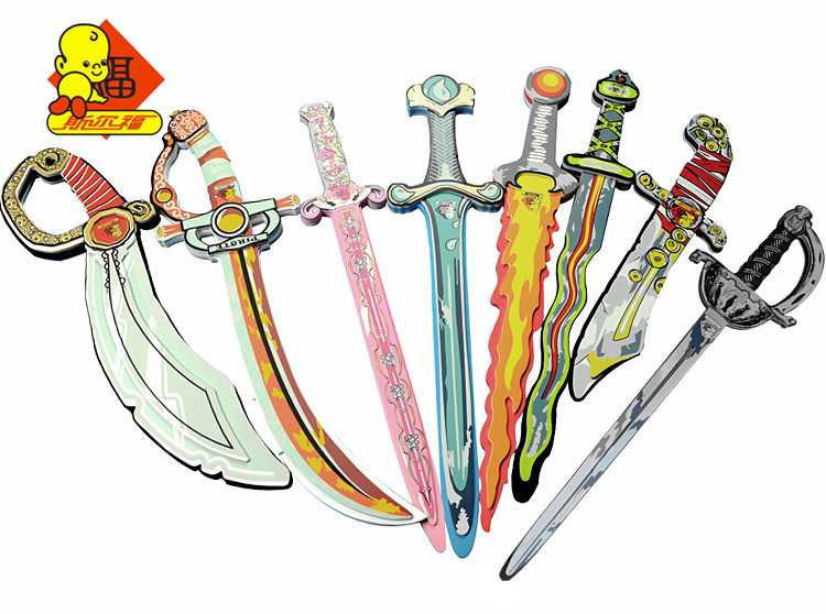 Gift eva foam toy child sword toy pirate knife sword(China (Mainland))
