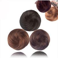 Meatball head wig bag wig kinkiness bag head bud bulkness involucres