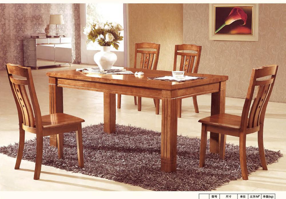 Roble directo de la f brica mesas y sillas de comedor con for Sillas roble para comedor