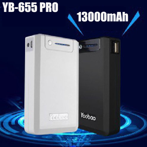 10pcs/lot.DHL/EMS Free.Newest Yoobao Magic Box Power Bank for iphone5 4s, for ipad 2, for mobile phone, 13000mAh YB-655 Pro(China (Mainland))