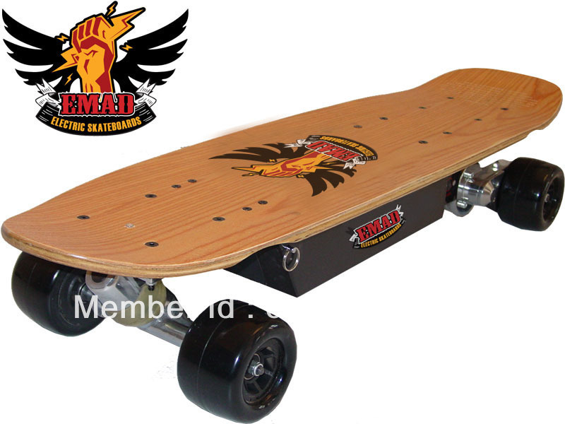 NEW 600w ELECTRIC WIRELESS SIDEWALK SURFER SKATEBOARD POWERBOARD TOY(China (Mainland))