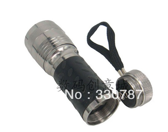 free chipping 2013 Multi-purpose Outdoor 14led flashlight mini flashlight gift belt rubber 14led lighting lamp(China (Mainland))