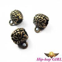 120pcs/lot 12*9mm Zinc Alloy Antique Bronze Antique Beads Jewelry DIY Accessories charm HG0516