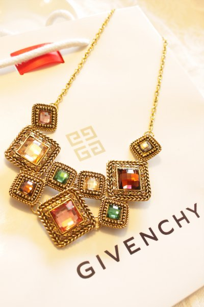 Fashion crystal female short design chain necklace geometry mix match fashion necklace accessories(China (Mainland))