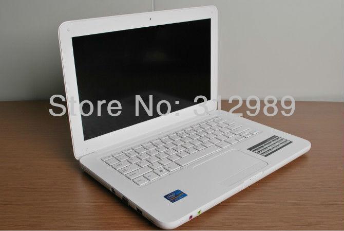 "13.3"" Windows Notebook Laptop Intel D425 1.8GHZ 1GB 160GB Netbook with Camera WiFi Bluetooth!(China (Mainland))"